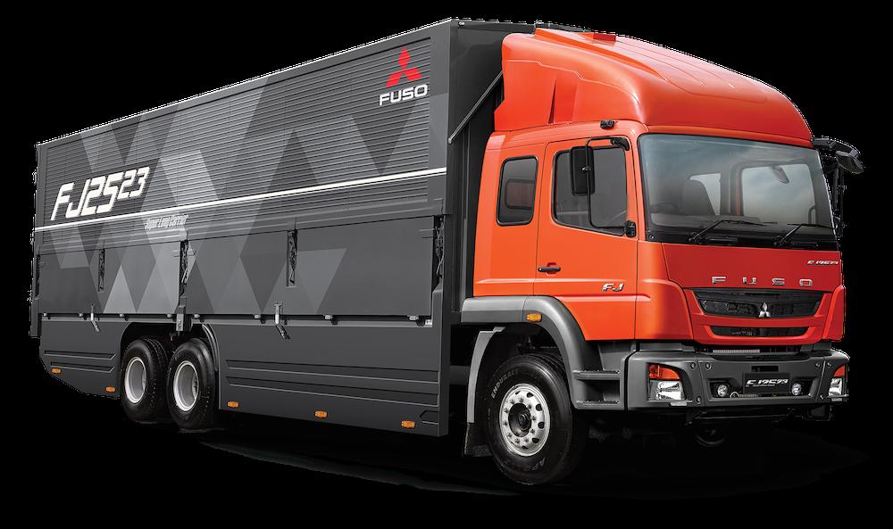 New Fuso Fj2523 Truck Debuts In Indonesia Komarjohari