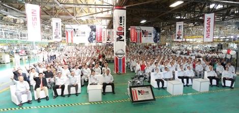 Nissan produce su motor 10 millones en su planta Aguascalientes