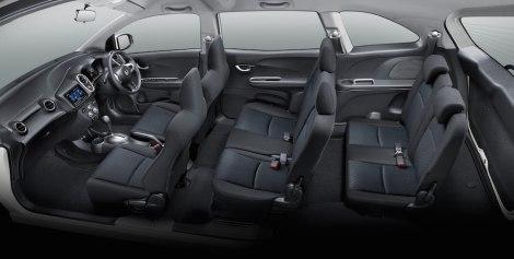 Honda Mobilio_Interior_Black (RS)