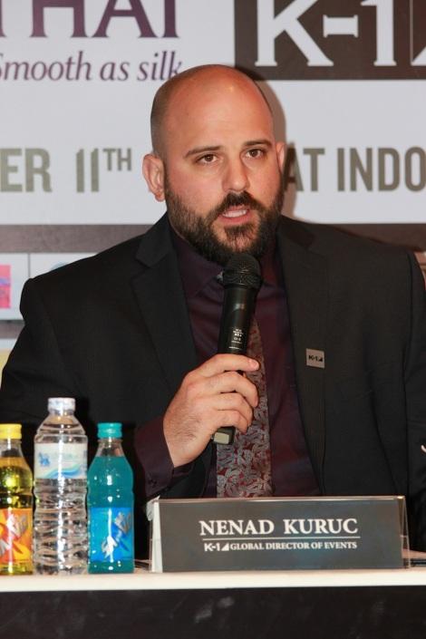 Nenad Kuruc, Managing Director of K-1 Global Holding