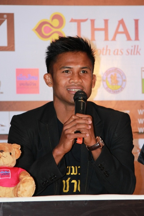Buakaw Banchamek, former two-time K-1 Champion (2004, 2006) of the 70 kg weight class
