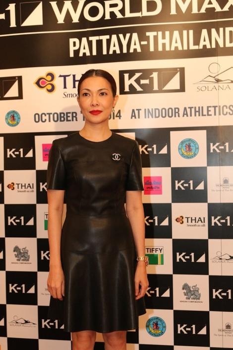 Ms Pat Patcha, K-1 Thailand representative