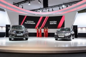 At the Moscow International Automobile Salon 2014, Nissan launches the eagerly awaited Pathfinder range, which includes the first-ever Russian manufactured petrol-electric hybrid. The Pathfinder debuts alongside the new Russian-built Sentra sedan, reaffirming Nissan's commitment to bringing to market built in Russia, with Russian consumers in mind.