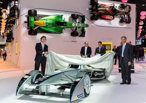 2013  Formula E SparkRenault SRT 01E presentation, Frankfurt Motorshow