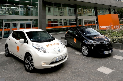 Renault-Nissan Alliance and Orange expand electric vehicle partn