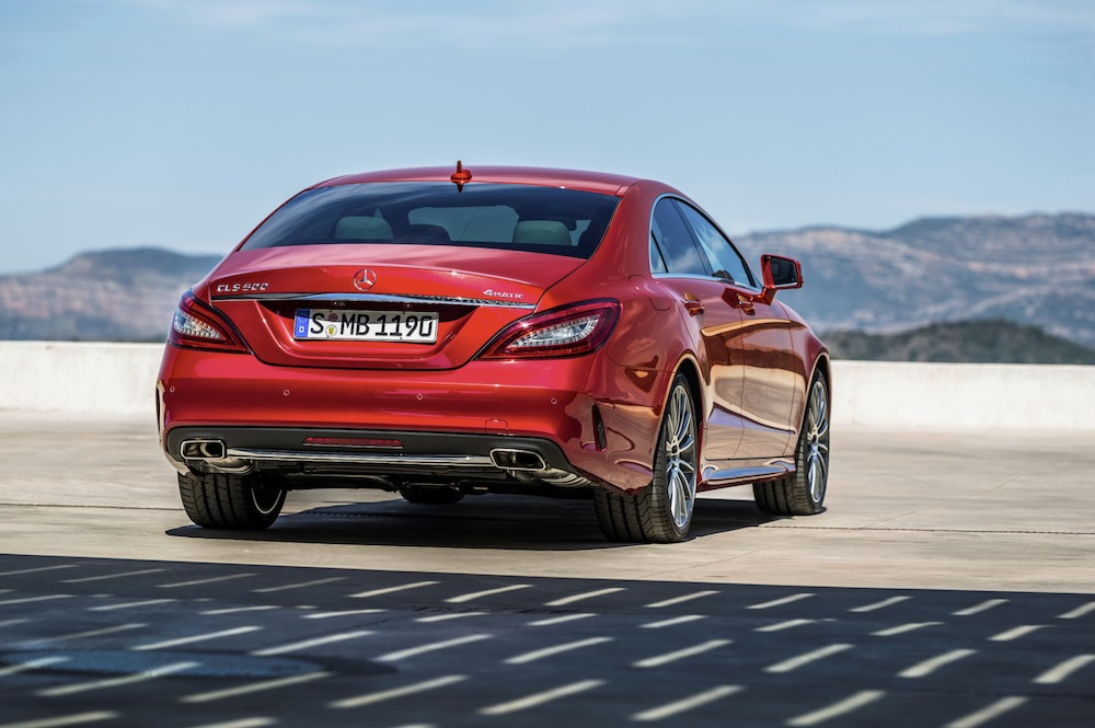 Mercedes benz thailand launches the new generation cls for Mercedes benz thailand