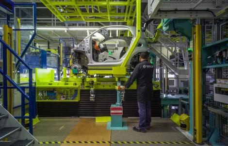 smart Werk Hambach: Produktion des neuen smart fortwo // smart Hambach plant, production oft he new smart fortwo