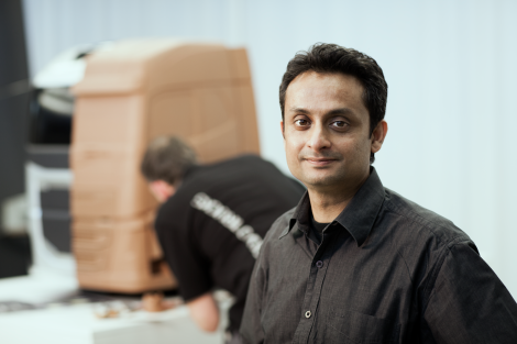 Asok George is Chief of Exterior Design at Volvo Trucks.