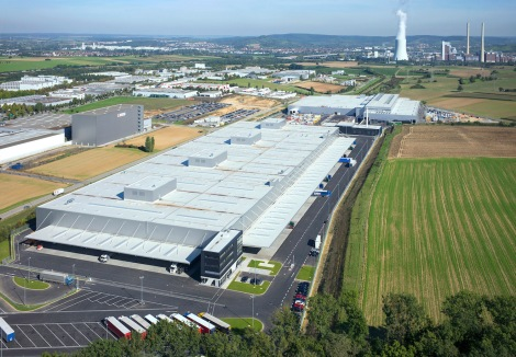 "The expansion of the Neckarsulm site ""Audi Böllinger Höfe"" covers an area of 23 hectares. Operations have commenced at the R8 production facilities and at the logistics centre."