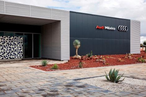 Audi M xico: Neues Trainingscenter eroeffnet