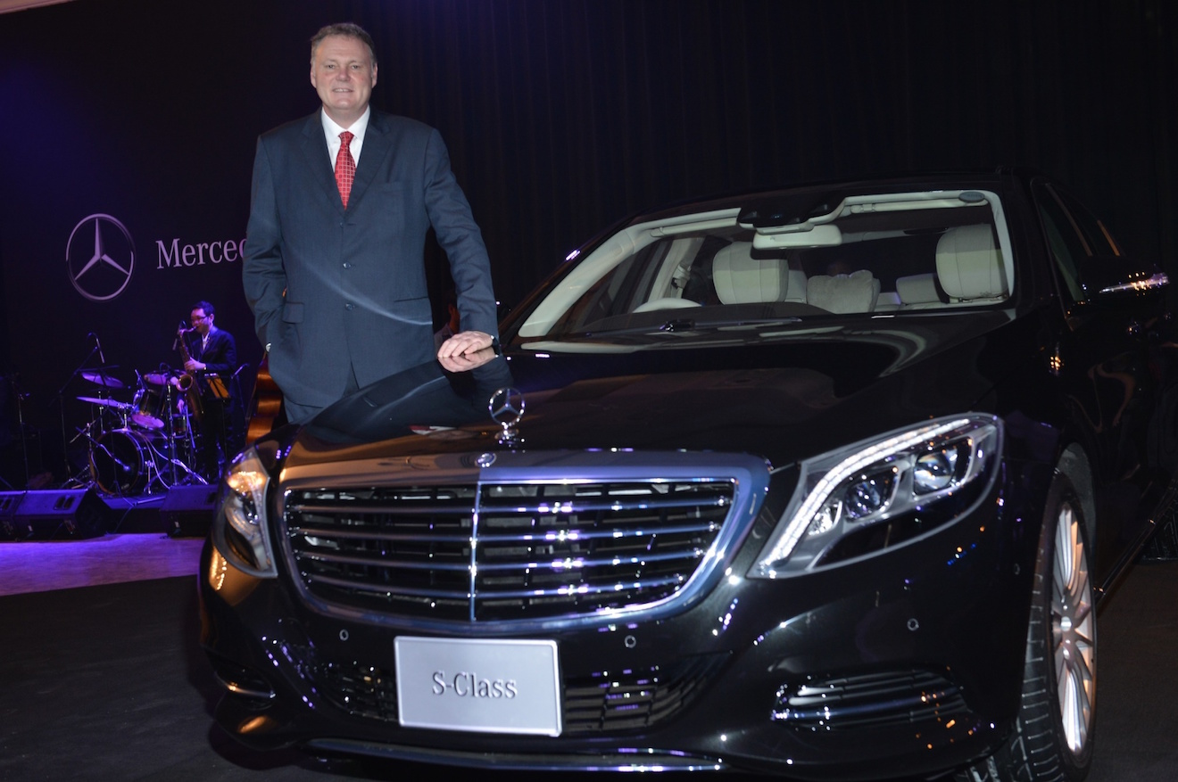 Mercedes benz writes a new page of history by delivering for Mercedes benz thailand