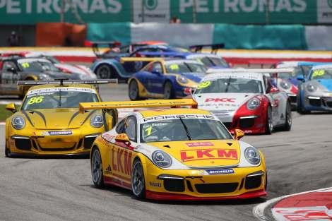 Porsche Carrera Cup Asia, Sepang, Malaysia, 28-30 March 2014.