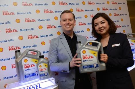Shell Helix HX8 Diesel