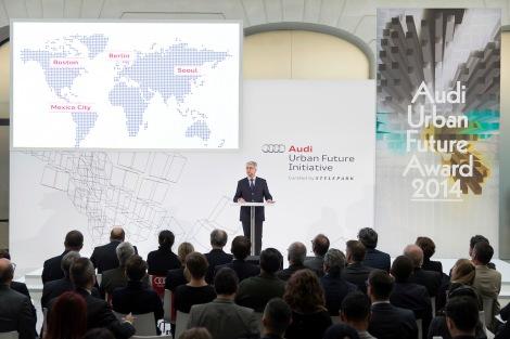 Mehr Raum und Lebensqualitaet in der Stadt: Audi stellt ?Urbane Agenda? vor