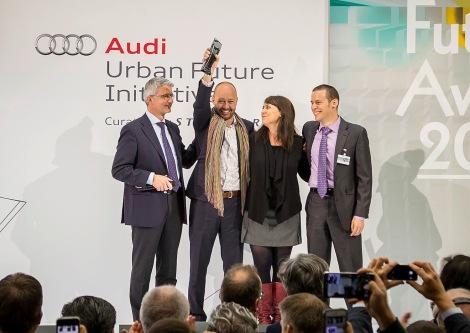 Datensammler aus Mexico City gewinnen Audi Urban Future Award 2014