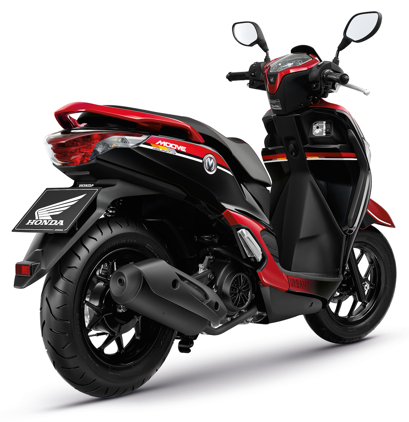 Honda Moove Color Chart Red Back