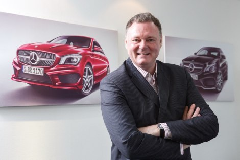 President and CEO of Mercedes-Benz (Thailand) Limited, Michael Grewe