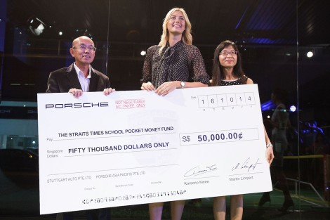 Charity Event with Porsche Asia Pacific In Singapore