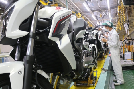 03 Global motorcycle model production