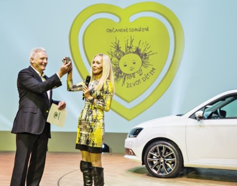 One millionth ŠKODA car produced in 2014 for charity