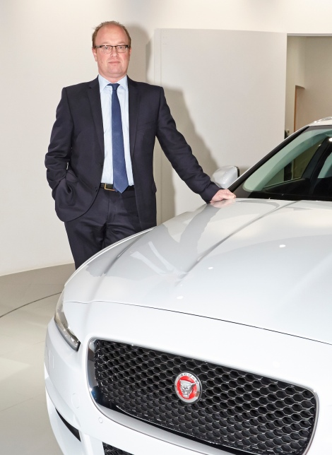 Jeremy Hicks, Jaguar Land Rover UK, managing director