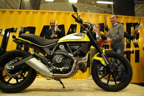 3-Start of production Ducati Scrambler