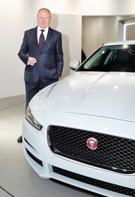 Ken Forbes,  Jaguar Land Rover, Global Fleet and Business, sales director