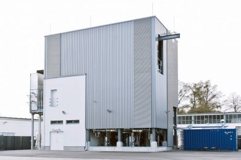 Sunfire plant in Dresden/Germany to produce Audi e-diesel - out of carbon dioxide, water and green electicity.