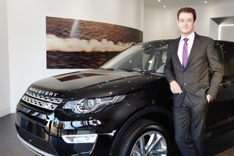 Chris Newitt, Jaguar Land Rover, UK, sales director