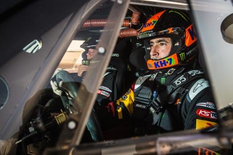 "Joan ""Nani"" Roma aiming to defend his Dakar title."