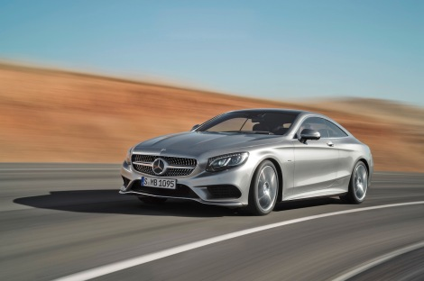 Mercedes-Benz S-Class Coupé, S 500 4MATIC Coupé, exterior, Edition 1, paint: AMG Alubeam silver, designo