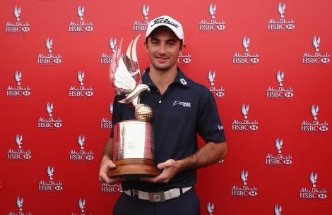 Gary Stal claims victory at Cadillac-sponsored 2015 Abu Dhabi HSBC Golf Championship