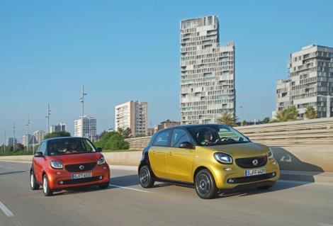 smart fortwo & smart forfour PTD – Barcelona