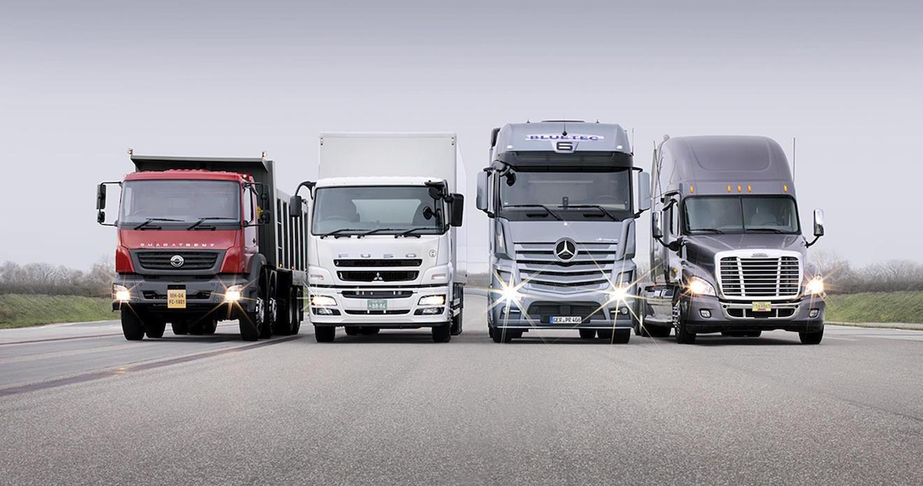 Mercedes Benz Trucks India