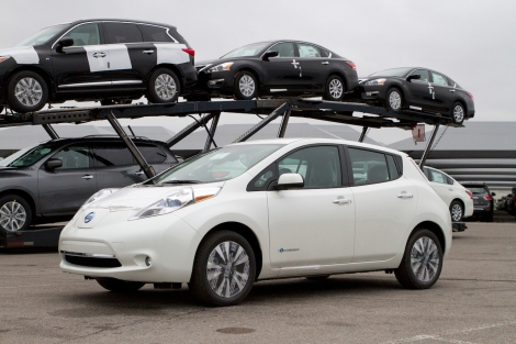 Nissan U.S. exports its one-millionth vehicle to South Korea