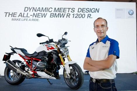 Head of BMW Motorrad Thailand, Markus Glaeser