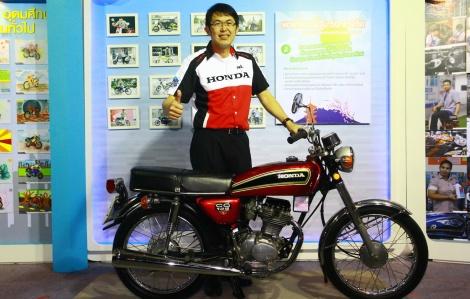 Suchart Arunsaengroj, director of AP Honda Co., Ltd.