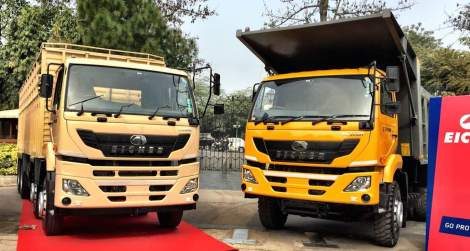 Eicher Pro 6031 and 6025T
