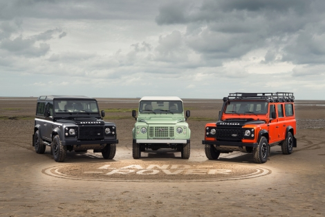 Land Rover has launched the Defender Celebration Series; three exciting new limited edition models which each celebrate a different element of Defender's unique history. The Heritage, Adventure and Autobiography Editions are available to order now.