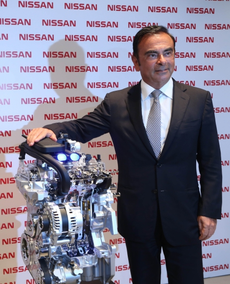 During a visit to Nissan Brazil's headquarters in downtown Rio, Carlos Ghosn, President and CEO of Nissan Motor Co. Ltd., announced a new and modern 3-cylinder, 1-liter engine will be made at its powertrain plant located at its Resende Industrial Complex in Rio de Janeiro State. The new engine will require a R$100 million investment.