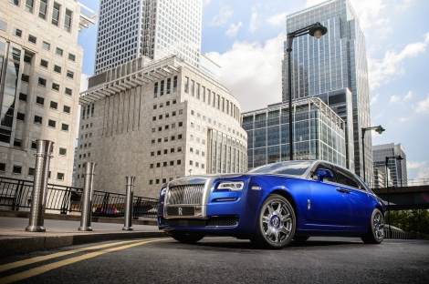 Rolls-Royce Ghost Series II, LondonPhotograph: James Lipman +44 7803 885275