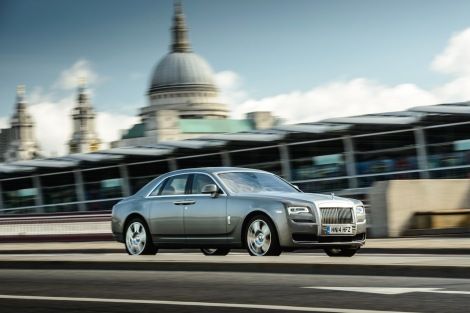 Rolls-Royce Ghost Series II, London Photograph: James Lipman +44 7803 885275
