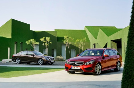 Mercedes-Benz E-Class Sedan and Estate