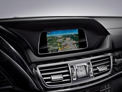 Mercedes-Benz E-Klasse (W 212) 2015, neues Infotainmentsystem