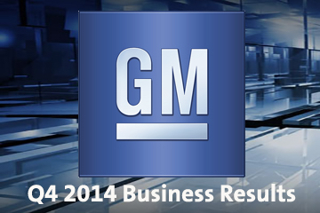 2014 GM Earnings Logo - 4th Quarter