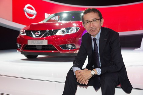 Senior Vice President for Design and Chief Creative Officer, Nissan Motor Co. Ltd.