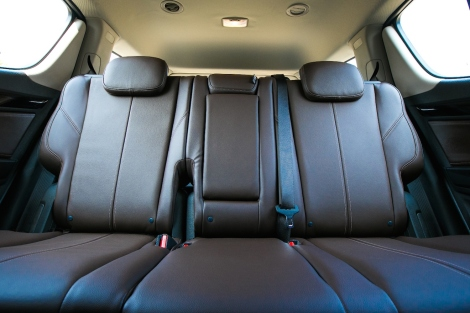 "Seats in new premium-grade leather in luscious ""Brown Stone"" color. Occupants will also find a quieter interior thanks to additional sound insulation in the bulkhead, isolating the engine and passenger compartments."