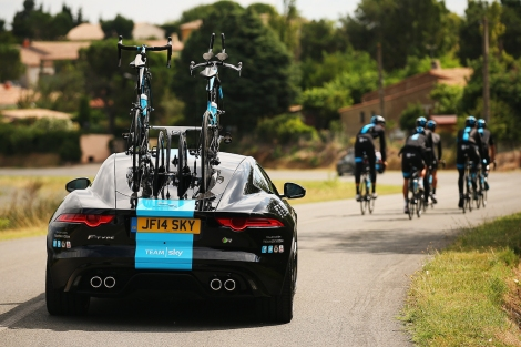 Jaguar and Team Sky win 'Best use of PR' accolade at the European Sponsorship Association Excellence Award