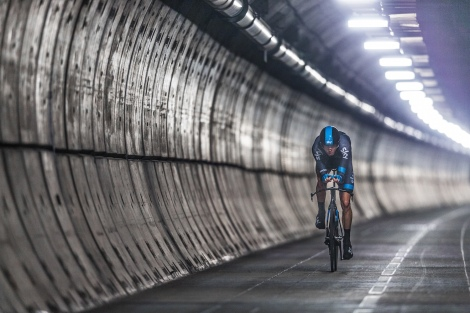 An innovative film produced to mark the beginning of the 2014 Tour de France which features Team Sky rider Chris Froome 'Cycling Under the Sea'.