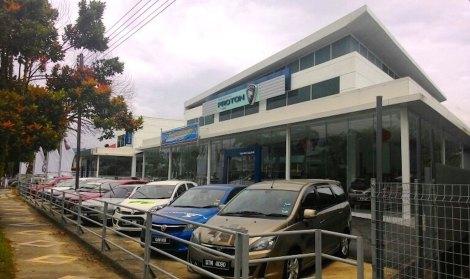 The PROTON 3S centre – Supernau Motors Trading Sdn Bhd.
